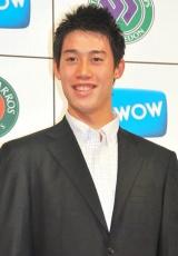 特別番組『WOWOWテニス』の制作発表会見に出席した錦織圭選手 (C)ORICON DD inc.