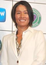 特別番組『WOWOWテニス』の制作発表会見に出席したクルム伊達公子選手 (C)ORICON DD inc.
