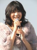 NHKワンセグドラマ『こいわらい』のトークイベントに登場した早織。