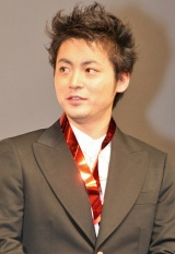映画『GANTZ』ジャパンプレミア上映後に舞台あいさつを行った山田孝之 (C)ORICON DD inc.