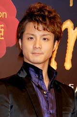 ミュージカル『マルグリット』の製作発表会見に出席した田代万里生