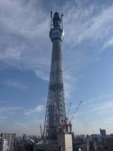 高さ500mの大台を突破した東京スカイツリー、工事は最終段階へ 【1日=東京都・墨田区】