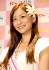 『ノンノモデル2010 オーディション』審査員特別賞に選ばれた西田有沙さん