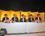 大晦日特番『絶対に笑ってはいけないスパイ24時』(日本テレビ系)の会見に出席した『ガキ使』メンバー (C)ORICON DD inc.