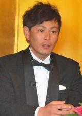 大晦日特番『絶対に笑ってはいけないスパイ24時』(日本テレビ系)の会見に出席したココリコの遠藤章造 (C)ORICON DD inc.