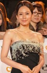 『日本ファッションリーダーアワード2010』授賞式に出席した中谷美紀 (C)ORICON DD inc.