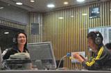 約5ヶ月ぶりに番組内でトークをしたナインティナイン(左から矢部浩之、岡村隆史) ※写真は2009年7月のもの(撮影:石垣星児)