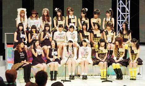 可愛らしい雰囲気で番組を飾ったアイドル4組