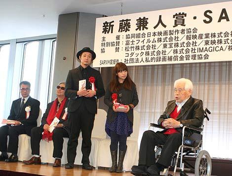 2010年度『新藤兼人賞』授賞式の模様 (C)ORICON DD inc.