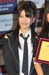 映画『インセプション』のBD&DVD発売記念イベントに出席した横山由依 (C)ORICON DD inc.