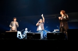 オープニングを飾った(前列左から)斉藤和義、奥田民生、吉井和哉