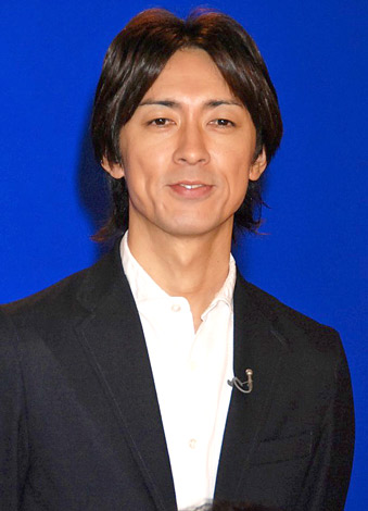 NHKの特別番組『地球イチバン』の収録後会見を行った、ナインティナインの矢部浩之 (C)ORICON DD inc.