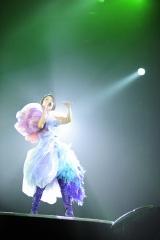 活動休止前の最後のコンサートを横浜アリーナで行った宇多田ヒカル