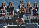 東京・調布市の味の素スタジアムで行われた18thシングル「Beginner」発売記念握手会イベントに登場したAKB48・高城亜樹 (C)ORICON DD inc.