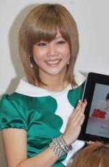 iPhoneアプリ「モーフィング娘。」記者会見に出席した新垣里沙 (C)ORICON DD inc.