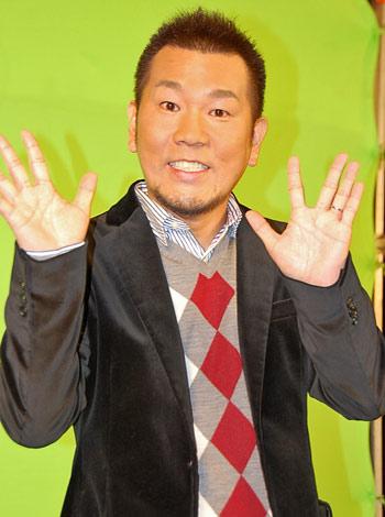 映画『僕が結婚を決めたワケ』のテレビCM収録を行ったFUJIWARA・藤本敏史 (C)ORICON DD inc.