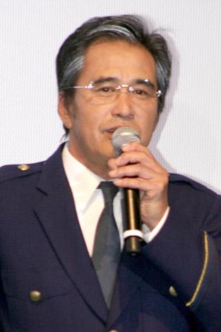 映画『相棒−劇場版II−』公開直前イベントの舞台あいさつに登壇した片桐竜次 (C)ORICON DD inc.