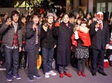 イベントに登場した(左から)東京03の豊本明長、飯塚悟志、角田晃広、ルー大柴、福田萌
