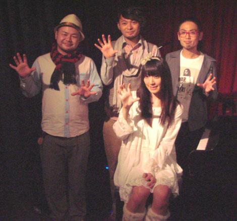 一夜限りのスペシャルライブを行ったPENGINとAKB48・松井咲子