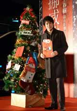 主演映画『ノルウェイの森』の台湾プレミアに出席した松山ケンイチ