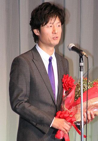 『第35回報知映画賞』で作品賞を受賞した、映画『悪人』の李相日監督 (C)ORICON DD inc.