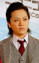 ミュージカル『クリスマスキャロル』の舞台稽古前に報道陣の取材に応じた宮下雄也