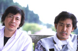 『水曜どうでしょう』(北海道テレビ)の新シリーズで、4年ぶりに名コンビを復活させる(左より)鈴井貴之、大泉洋