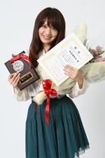 準グランプリを受賞した赤松麻里菜さん