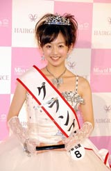 全国の大学のミスキャンパスの頂点を決める『Miss of Miss Campus Queen Contest』のグランプリに輝いた、立教大学3年の伊藤弘美さん (C)ORICON DD inc.