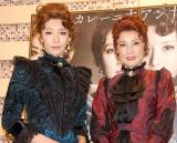 舞台『アンナ・カレーニナ』の通し稽古を行った(左から)瀬奈じゅん、一路真輝 (C)ORICON DD inc.
