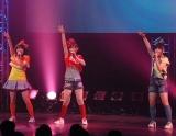 ご当地アイドルNo.1決定イベント『U.M.U AWARD 2010』の決勝戦に出場した、埼玉県代表・Pieace (C)ORICON DD inc.