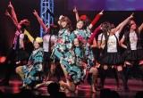 ご当地アイドルNo.1決定イベント『U.M.U AWARD 2010』の決勝戦に出場した、青森県代表・りんご娘 (C)ORICON DD inc.