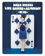 水樹奈々『NANA MIZUKI LIVE GAMES×ACADEMY-BLUE-』がミュージックBD首位
