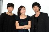 韓国ドラマ『ロードナンバーワン』のPRで来日したユン・ゲサン、キム・ハヌル、ソ・ジソブ (C)ORICON DD inc.