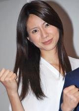 『第61回NHK紅白歌合戦』リハーサルに参加した、紅組司会の松下奈緒 (C)ORICON DD inc.