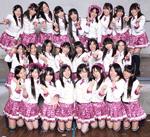 NMB48第1期生25名全員での集合写真