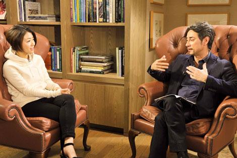 クリス・ペプラーと宇多田ヒカルの対談の模様(C)NHK