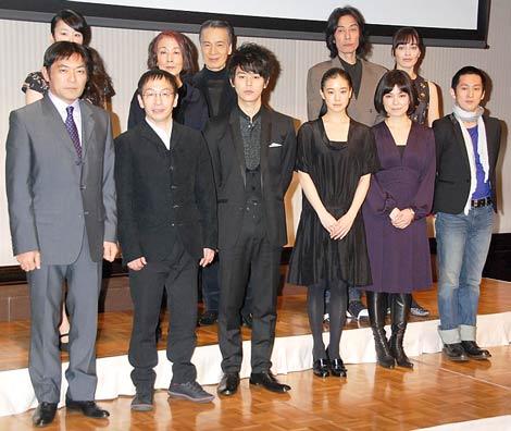NODA・MAP第16回公演『南へ』の制作発表記者会見の模様 (C)ORICON DD inc.