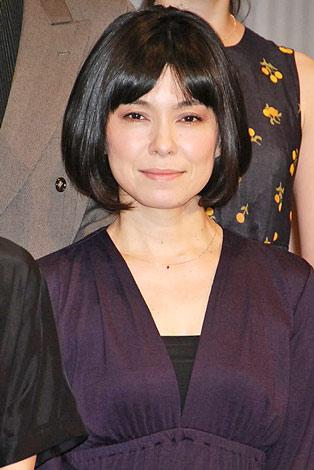 NODA・MAP第16回公演『南へ』の制作発表記者会見に出席した高田聖子 (C)ORICON DD inc.