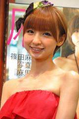2011年期待の女優ランキング3位のAKB48篠田麻里子 (C)ORICON DD inc.