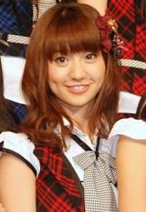 2011年期待の女優ランキング4位のAKB48大島優子 (C)ORICON DD inc.