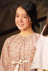 『7代目東宝シンデレラオーディション』で審査員特別賞に輝いた上白石萌音さん