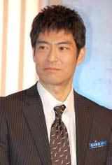 テレビ朝日系ドラマ『ホンボシ 心理特捜事件簿』の発表記者会見に出席した高嶋政宏
