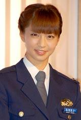 テレビ朝日系ドラマ『ホンボシ 心理特捜事件簿』の発表記者会見に出席した安田美沙子