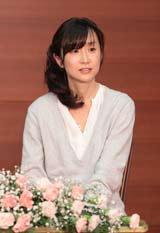85作目の『NHK朝の連続テレビ小説』の発表会見に出席した脚本家の渡辺あや氏