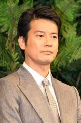 映画『太平洋の奇跡 フォックスと呼ばれた男』の舞台あいさつに出席した唐沢寿明