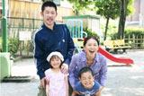 サイバラ家の家族写真 (C)2011映画「毎日かあさん」製作委員会