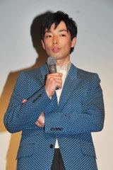『その街のこども 劇場版』初日舞台あいさつに登壇した森山未來 (C)ORICON DD inc.