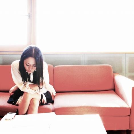 シングル「毛衣」で、中国で歌手デビューする蒼井そら