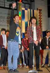 『よしもと×Yahoo!JAPAN生配信パワーアップ宣言』の概要発表記者会見に出席した麒麟